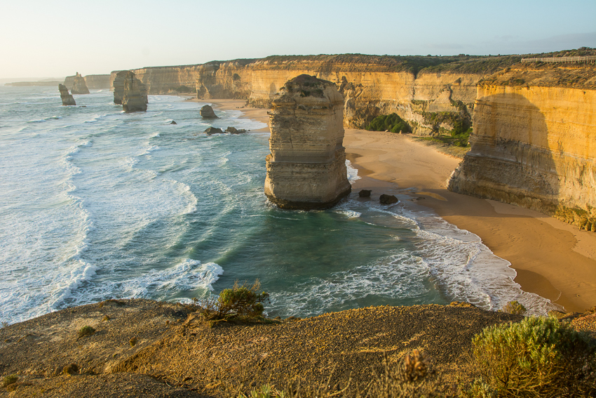 A beautiful close to visiting the 12 Apostles along Great Ocean Road.