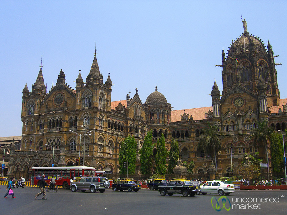 Victoria Terminus sees more than three million commuters each day.