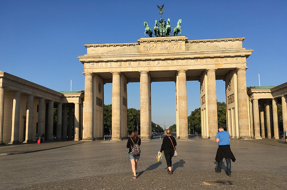 Brandenburg Gate: everyone's gathering place.