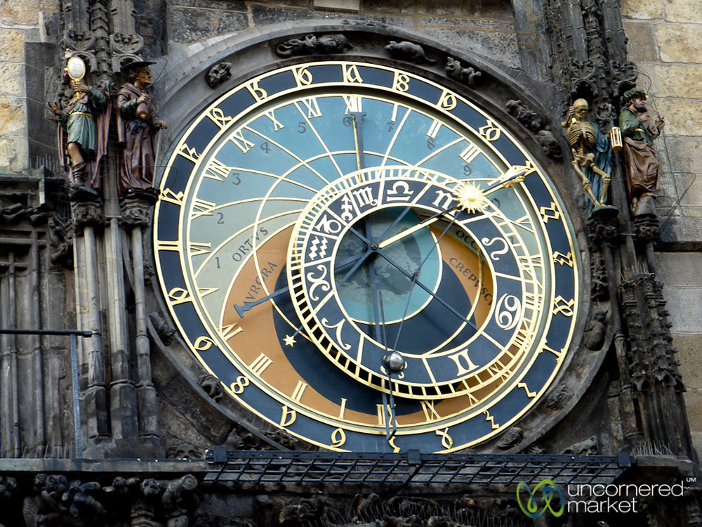 Prague's Astrological Clock dates back to 1410. And yes, it still works!