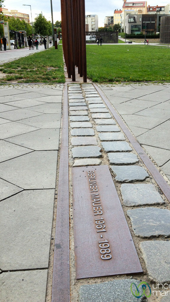 Historical reminders are everywhere in Berlin, including under your feet.