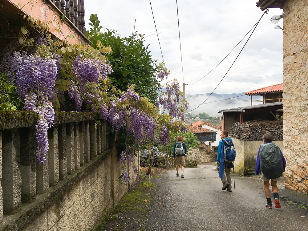The Camino takes you through villages, giving you a real taste of local life.
