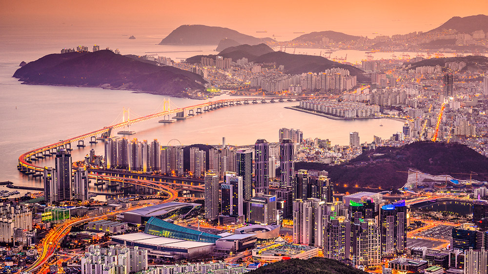 Experience it all in Busan.