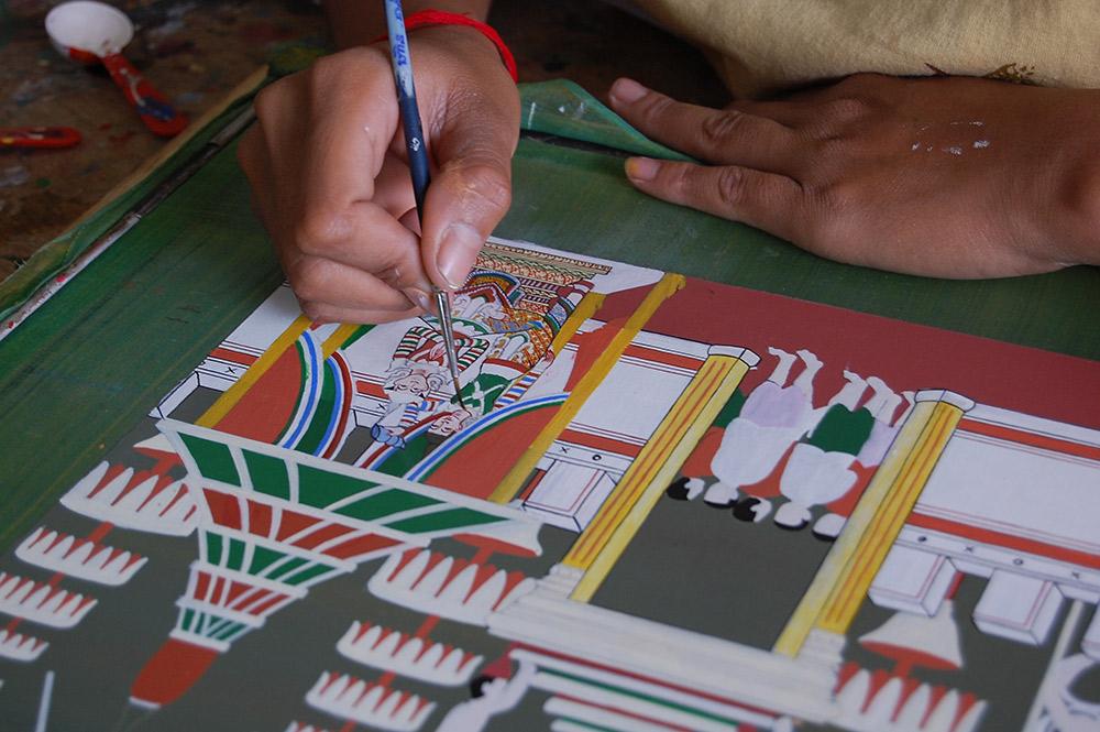 Preserving traditional Khmer skills at Artisans d'Angkor. Photo courtesy Chee H.