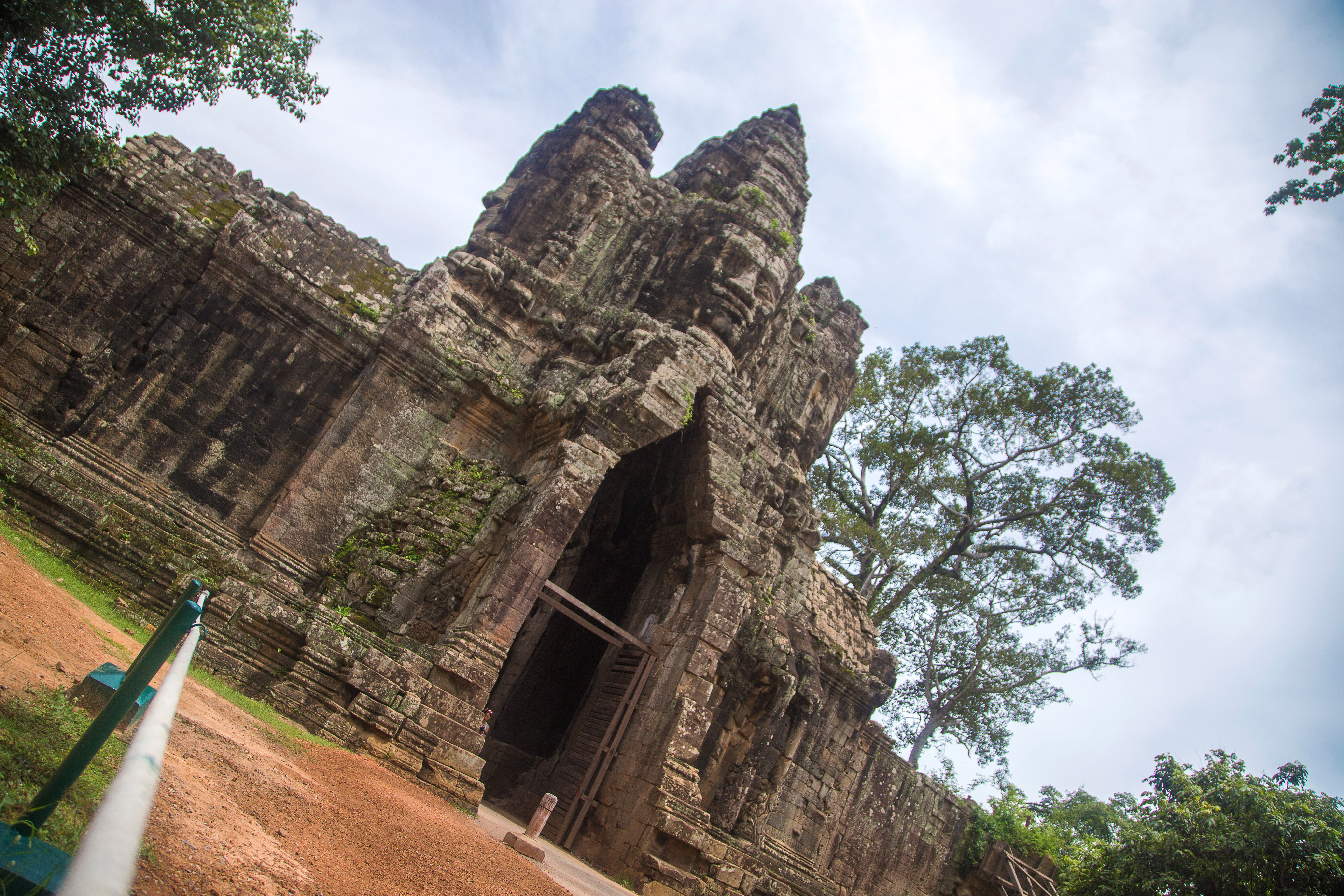Bayon Temple in Siem Reap.