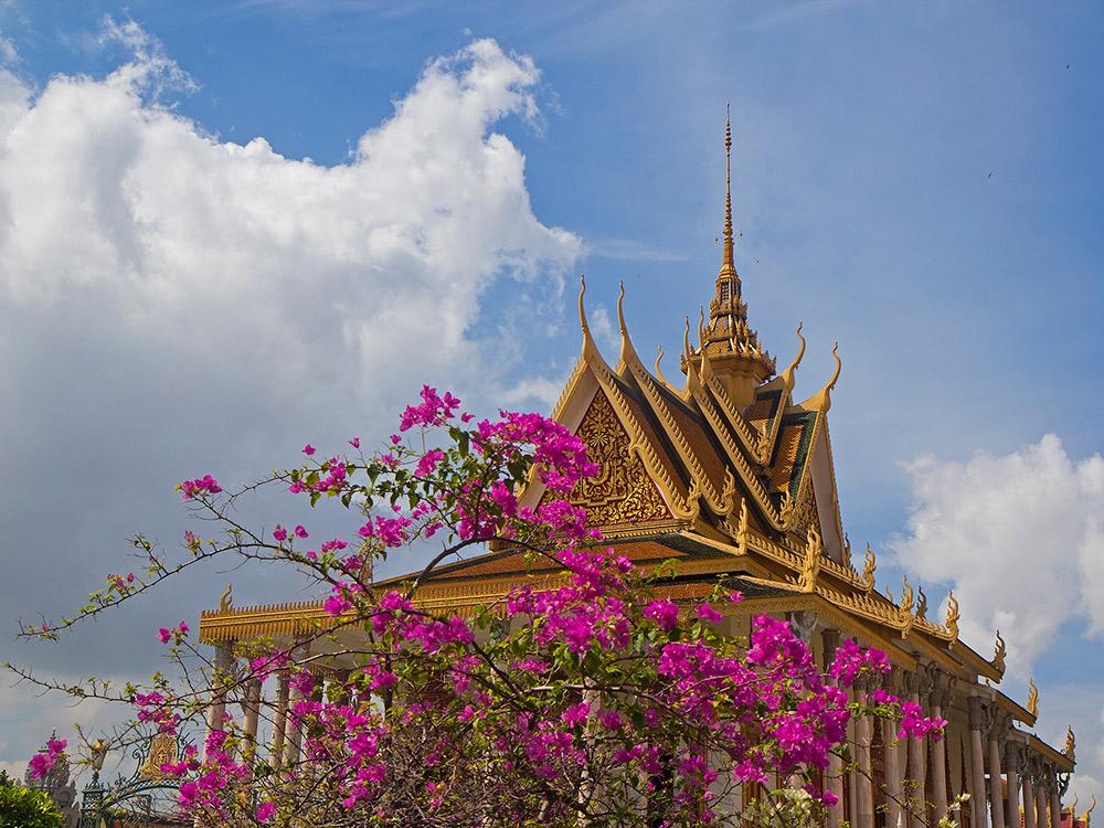 The Silver Pagoda at Phnom Penh's Royal Palace. Photo courtesy Peter N.