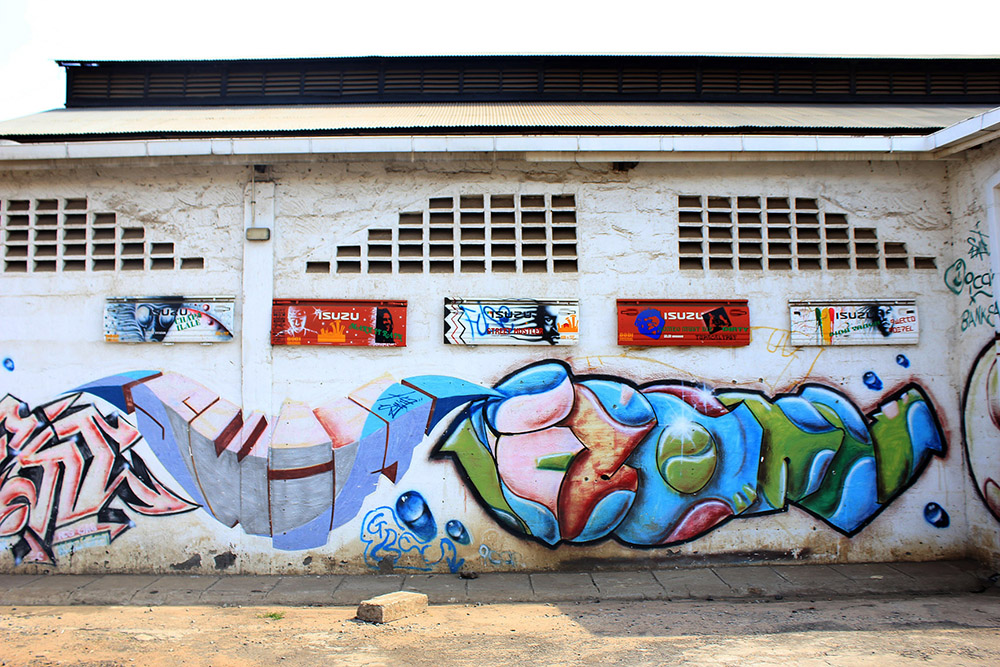 Nairobi's street art scene is making an impact. Photo courtesy of Fabian.