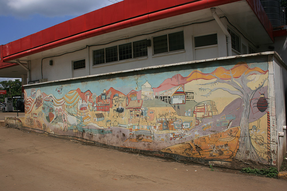 Street art in Nairobi is revitalizing spaces that were once unvisited. Photo courtesy of Jon W.