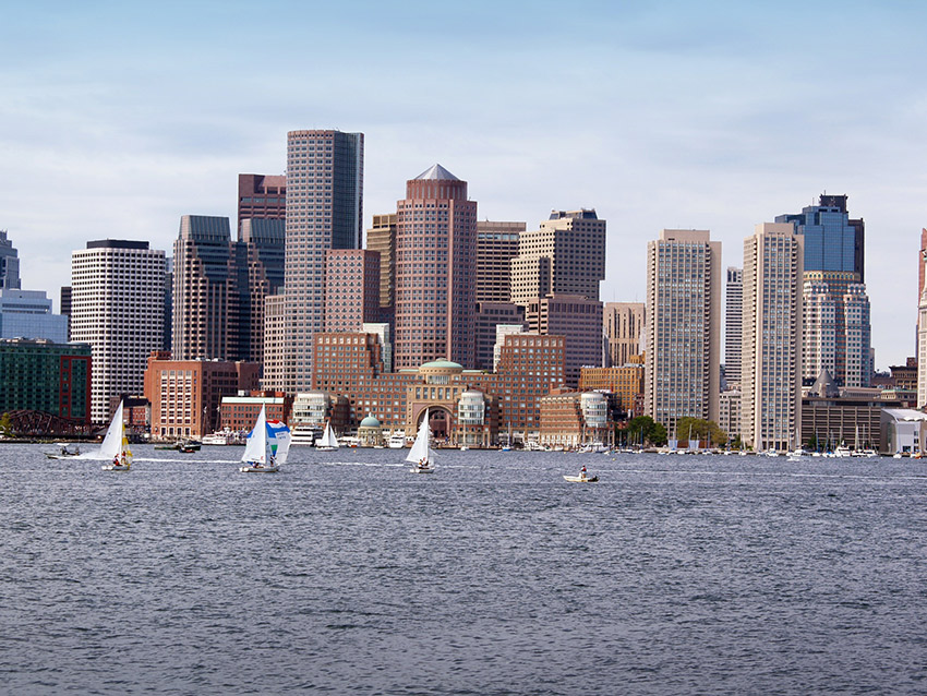 Boston's gorgeous waterfront.