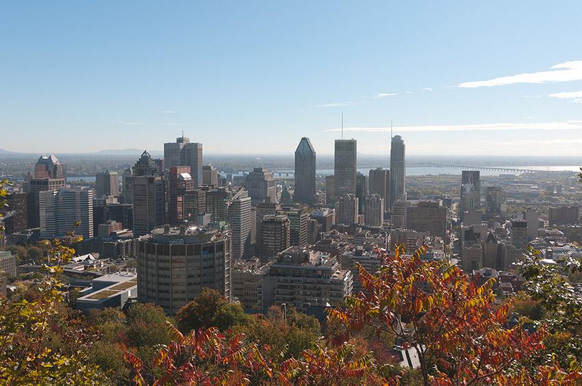 Montreal's skyline.