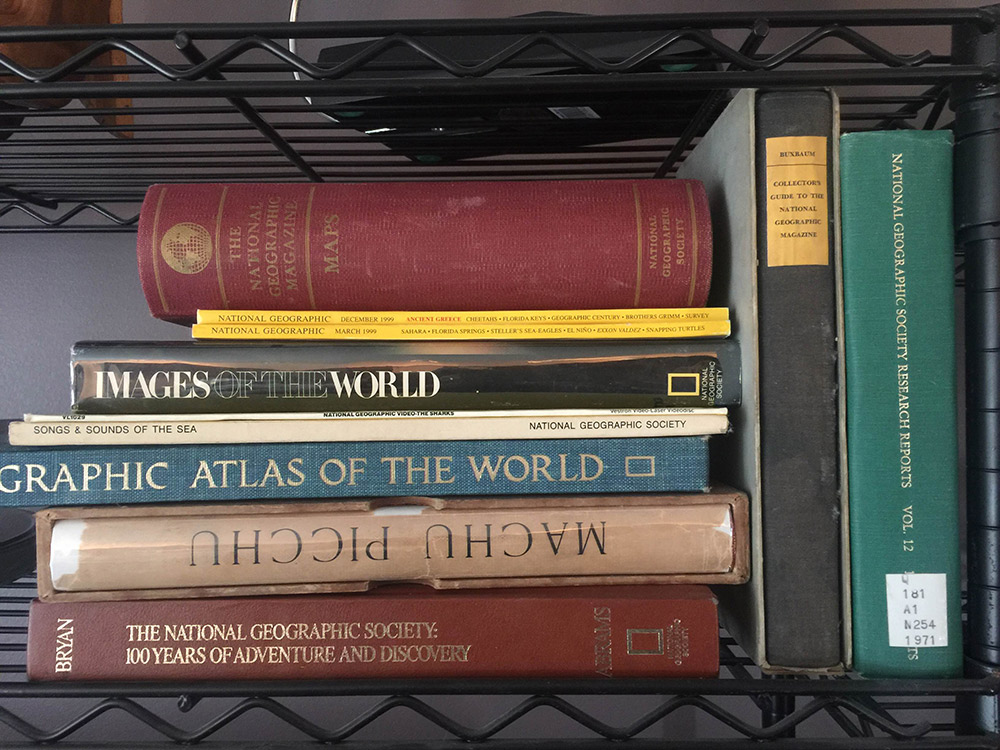 A sample of my National Geographic collection