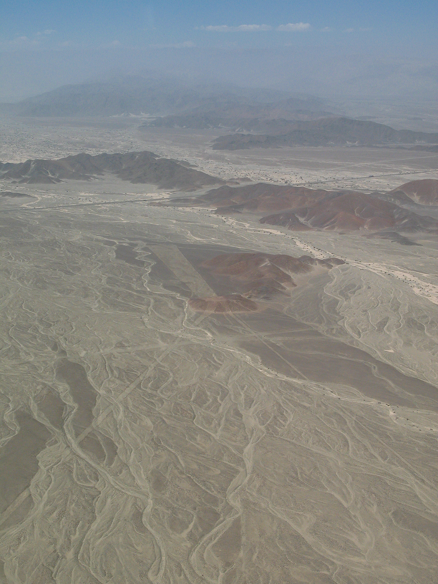Getting a little perspective high over the Nazca Lines.