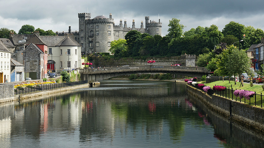 Kilkenny sure sets the scene for a picturesque parade. Photo courtesy Stefan J.