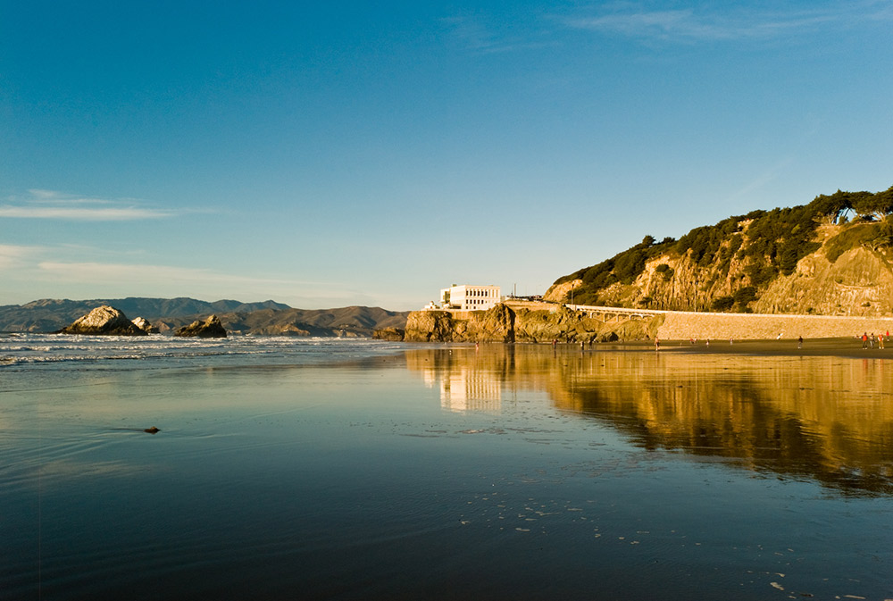 Pack a picnic and head for the Pacific shore at Ocean Beach. Photo courtesy Nicolay N.