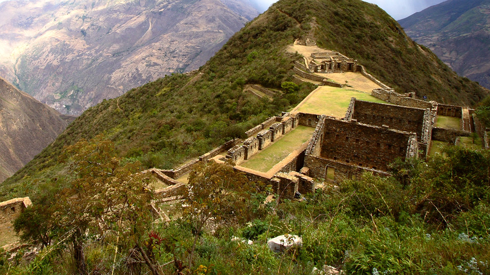 Choquequirao is Machu Picchu's sister city. Photo courtesy Mark R.
