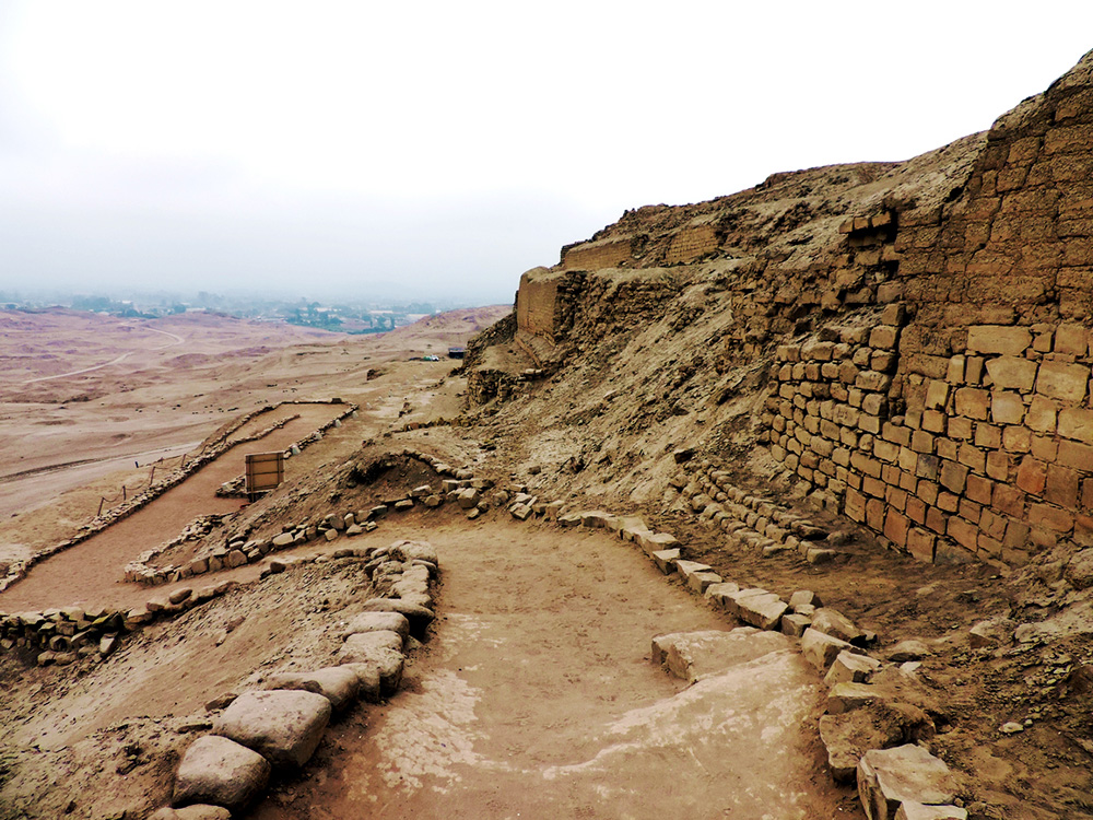 The ruins of Pachacamac. Photo courtesy of Thiago M.