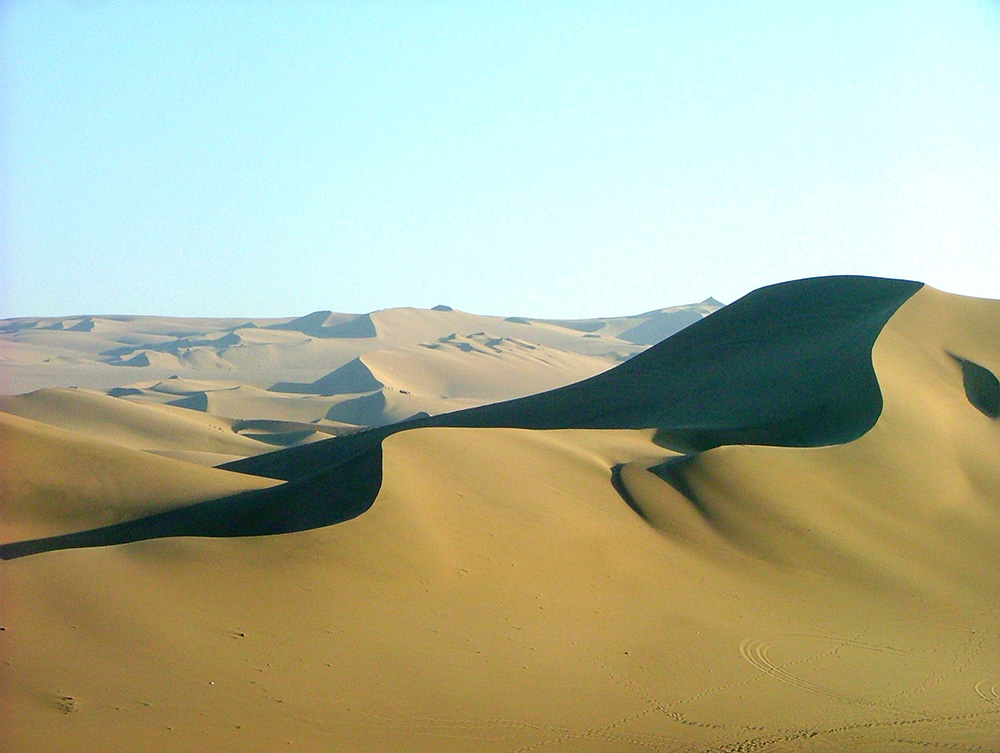 Huacachina is known for its dunes. Photo courtesy of Sophie R.