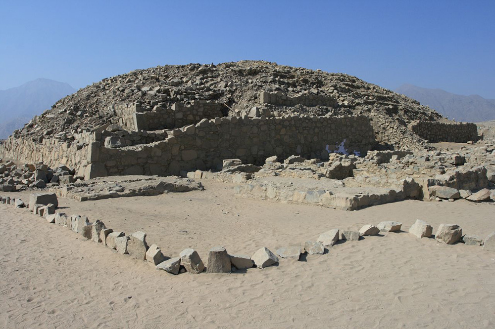 Caral is one of the oldest towns in South America. Photo courtesy of Michael B.
