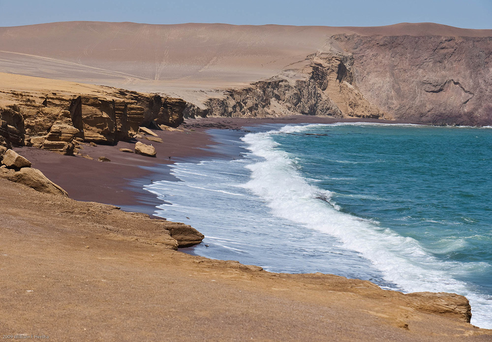 Peru's Paracas National Reserve. Photo courtesy of Bill H.