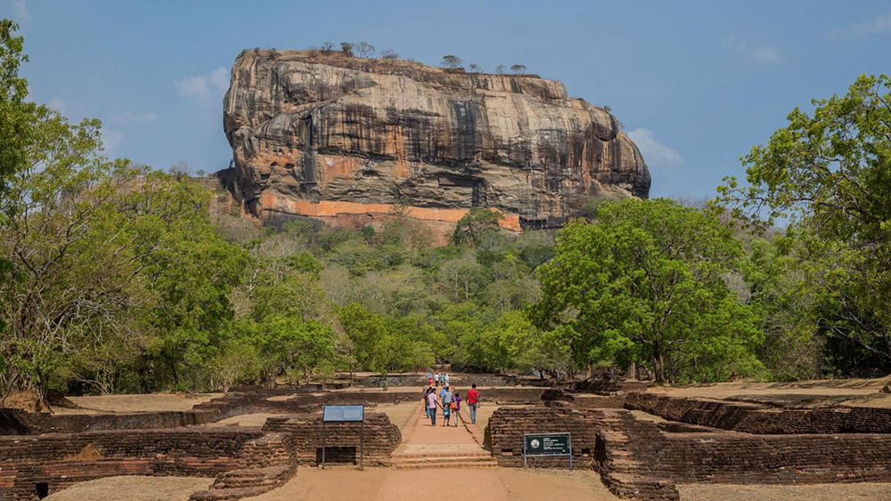The Ancient city of Sigiriya.