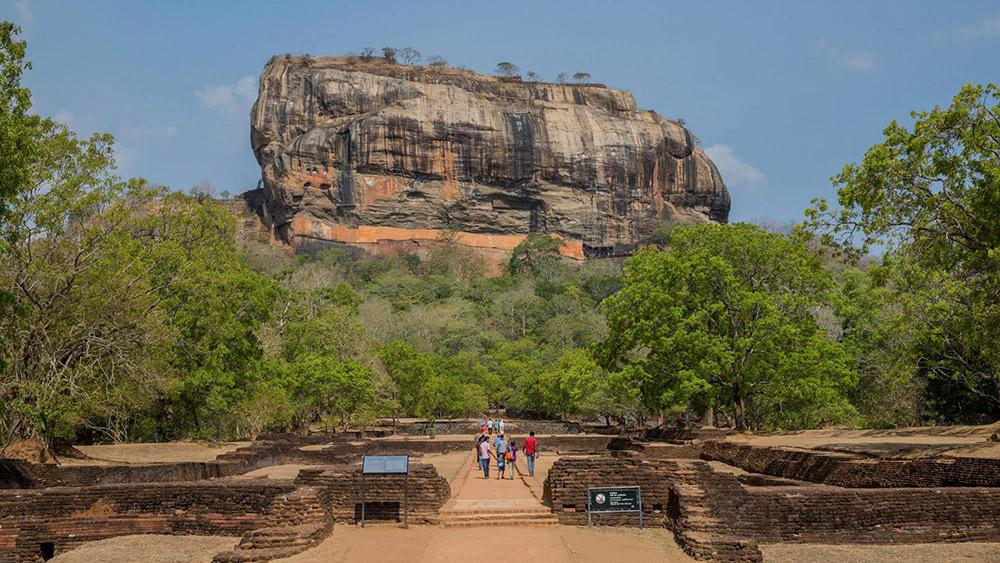 The Ancient city of Sigiriya.