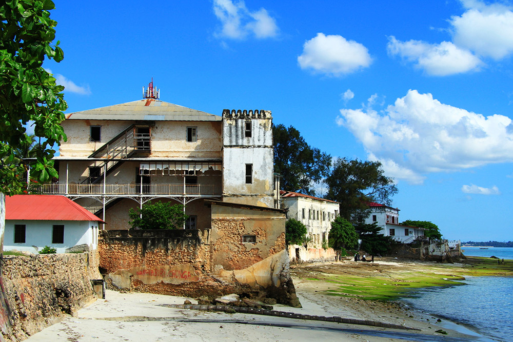 Stone Town's harbour is perfect for a stroll around.