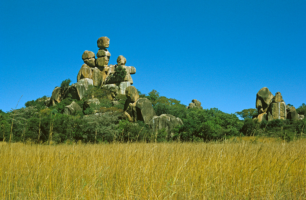The hills of Matobo National Park were formed 2 billion years ago.