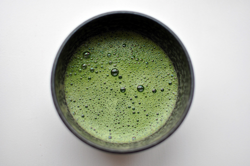 The use of bright green matcha dates back hundreds of years. Photo courtesy of cyclonebill.