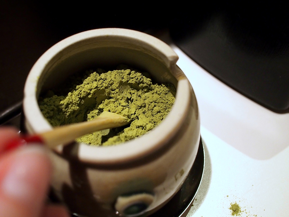 Powdered matcha is much more potent than ordinary green tea.