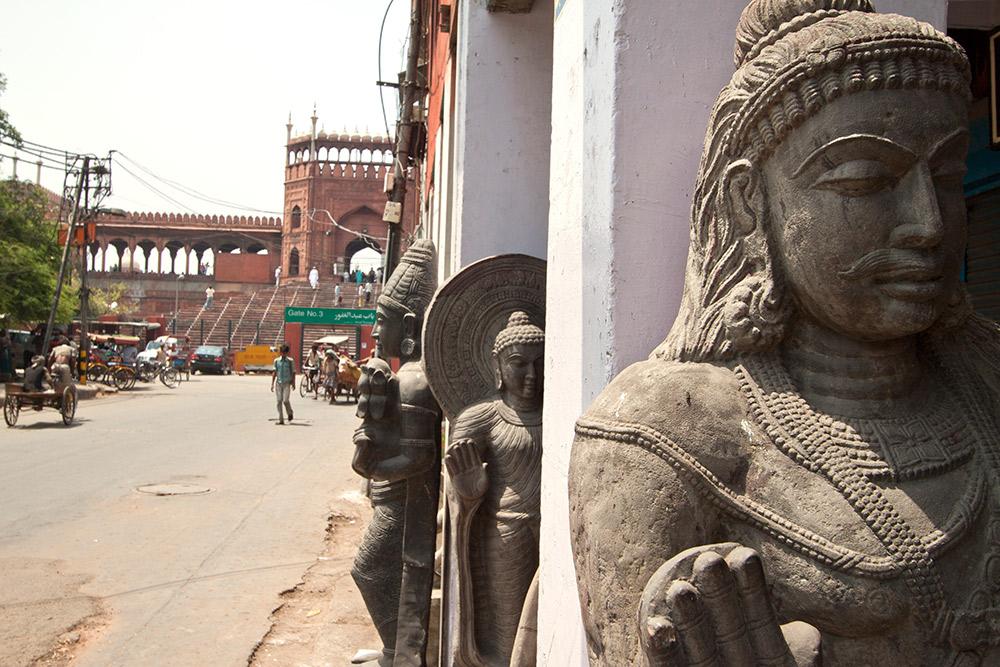 Get lost in Delhi.