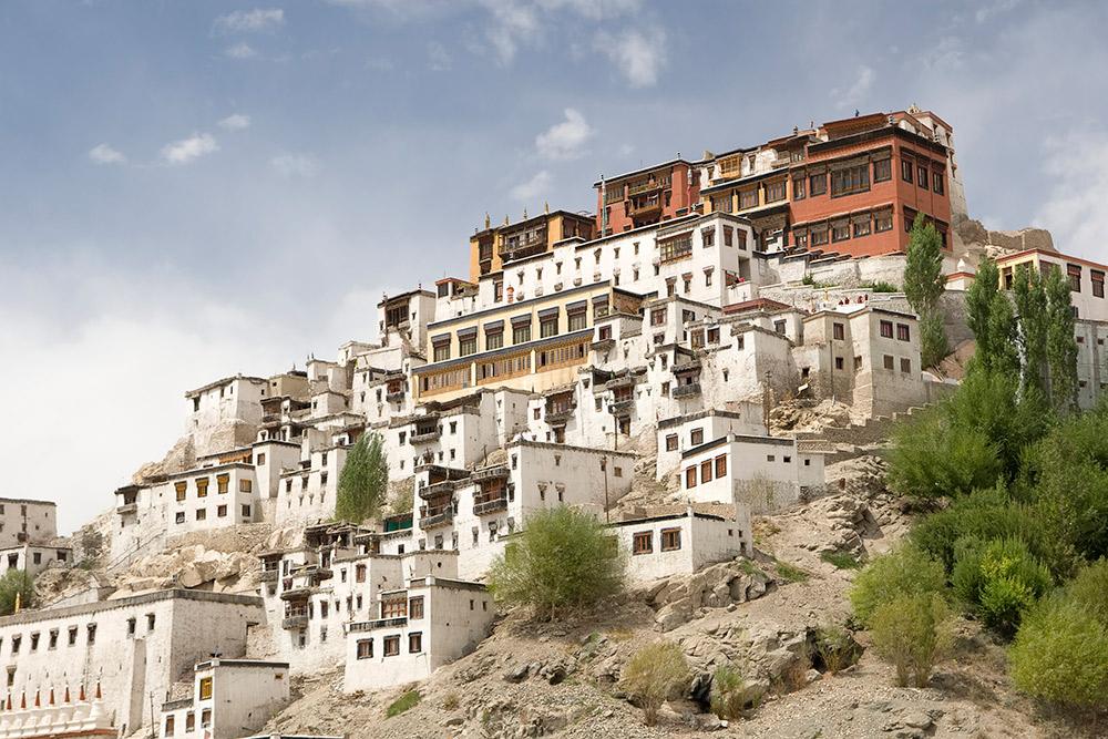 Thikse Monastery.