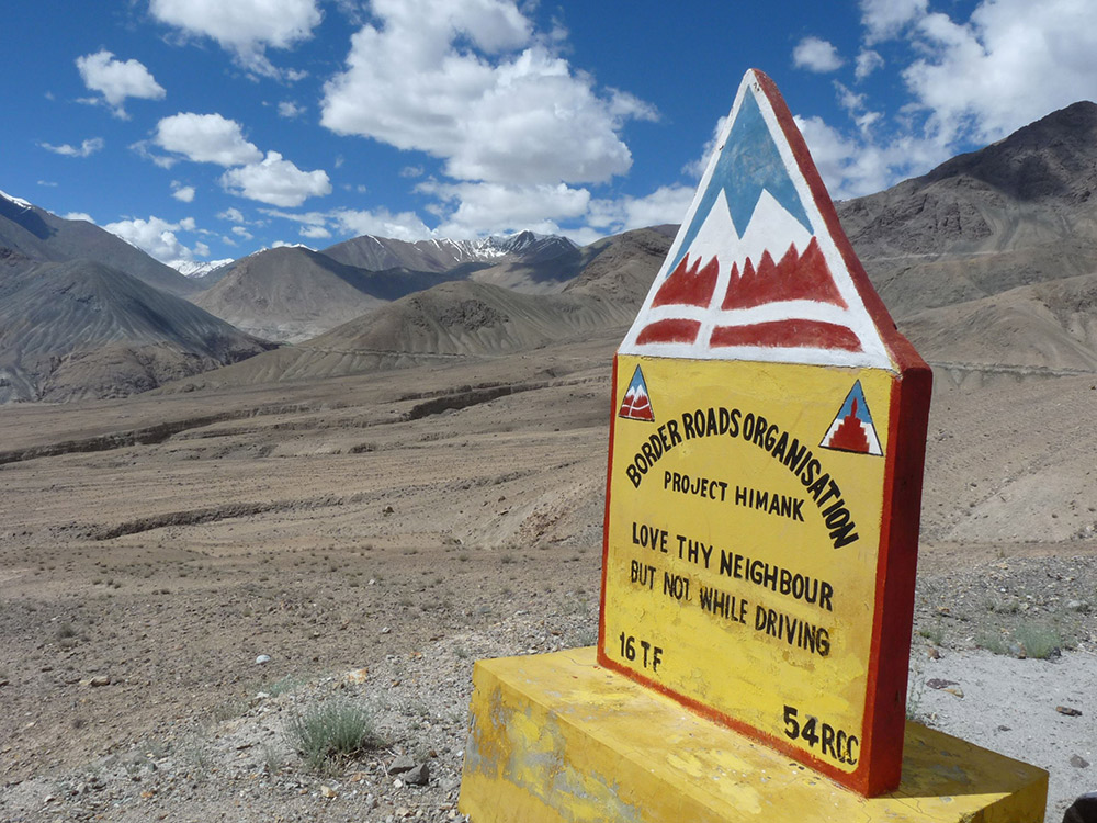 Ladakh is also a place of humour. Photo courtesy Mark Elliott.