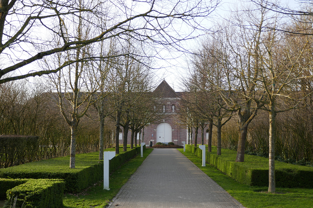 The St Sixtus abbey, home to Belgium's famous Westvleteren beer.
