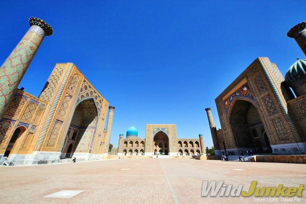This is Samarkand in Uzbekistan.