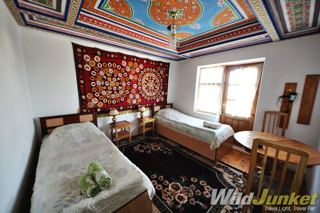 My guesthouse accommodation is Khiva, Uzbekistan.