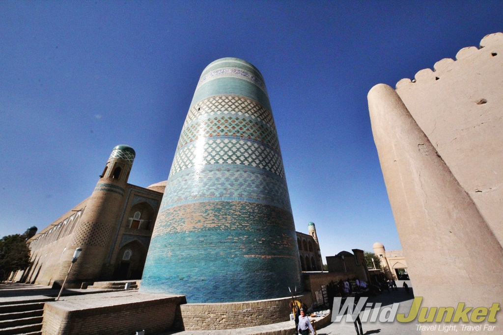 The city of Khiva is located in the Xorazm Region of Uzbekistan.