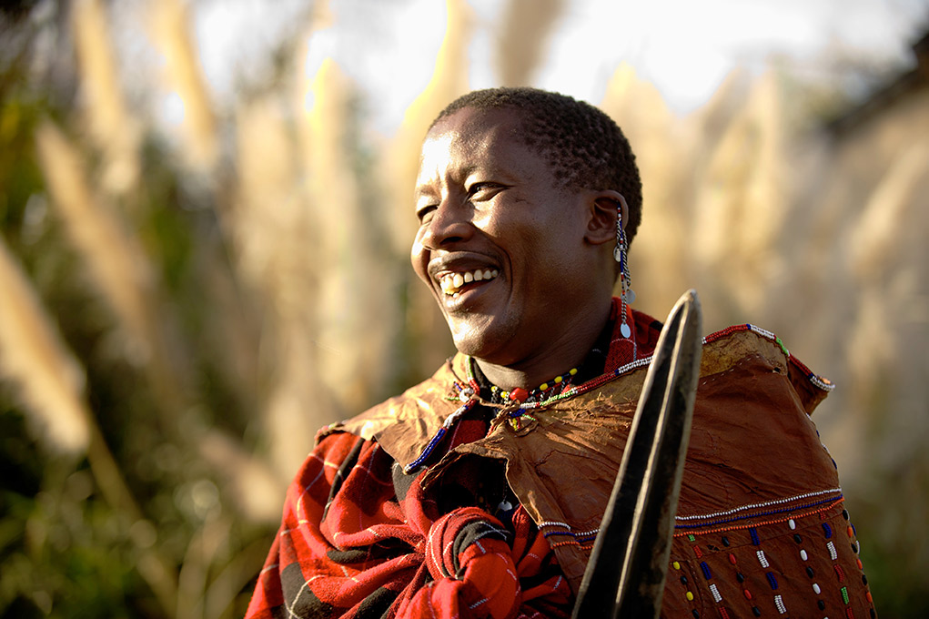 Today, the cloth is a chance to highlight Maasai heritage.