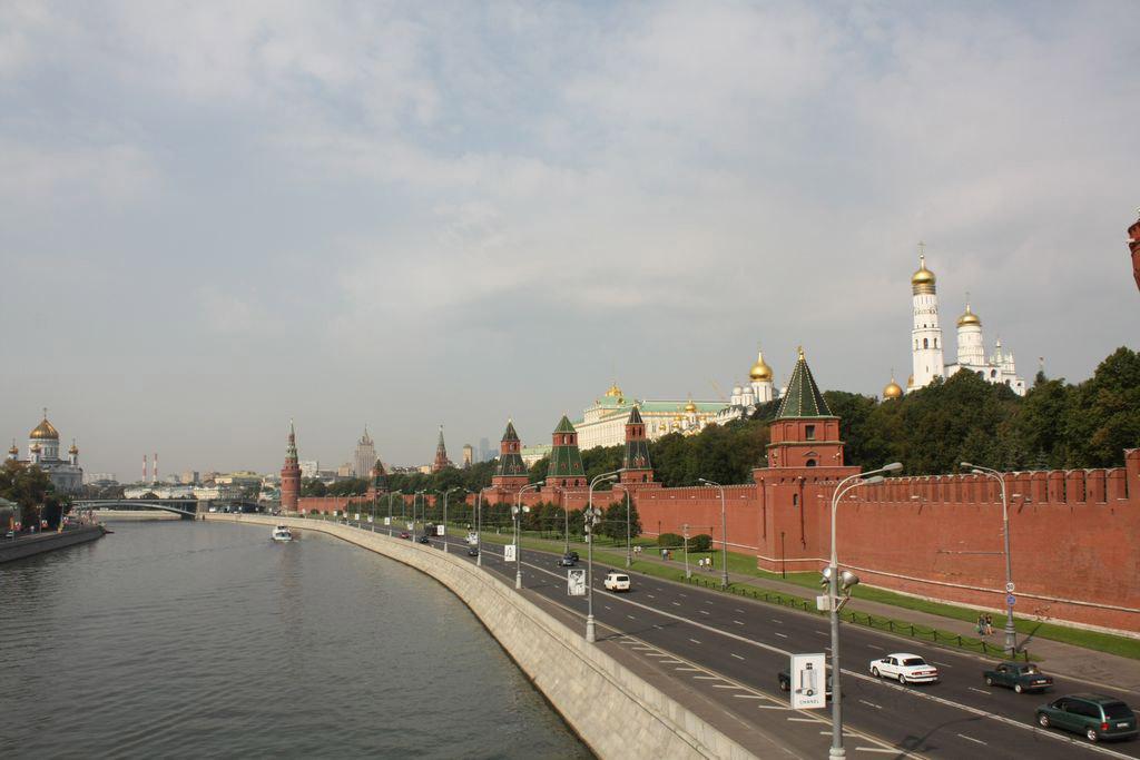 Kremlin walls.