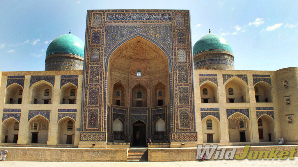Bukhara's old town is packed with more than 140 historical monuments.