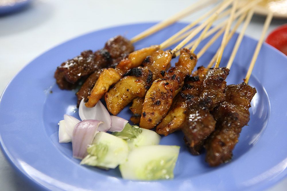 Making the perfect satay is an art form in Malaysia. Photo courtesy Dickson.