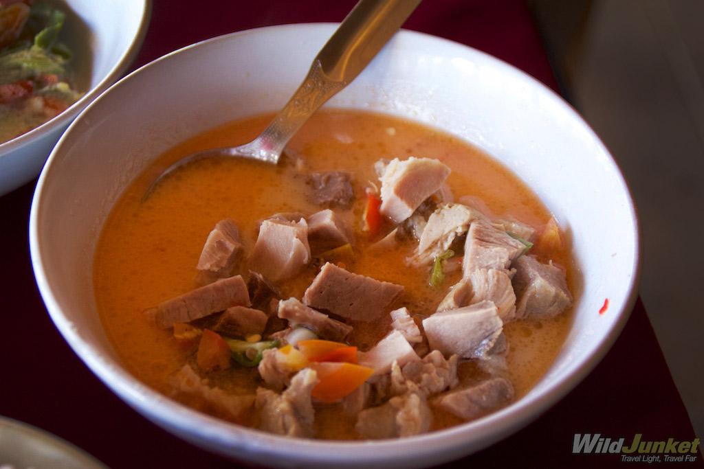 Bhutanese food leaves a deep impression.