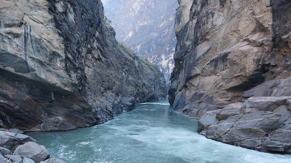 Tiger Leaping Gorge's natural beauty makes it a must-visit for hikers and outdoor enthusiasts. Photo courtesy of Sy Smith.