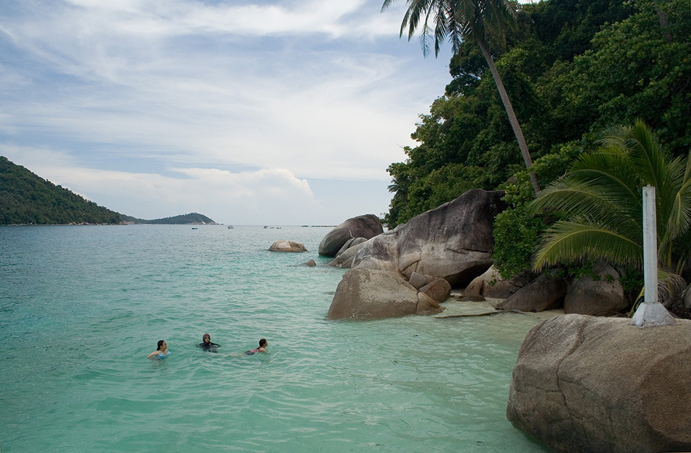 The Perhentian Islands in Malaysia. Photo courtesy of Mike Villiger.
