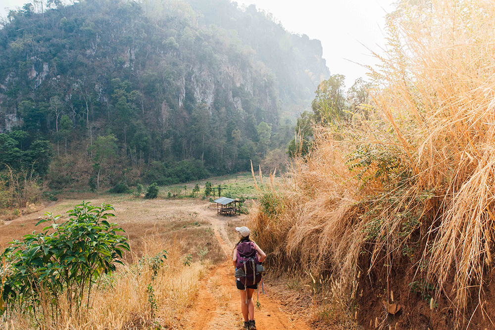 Travelling away from the hustle and bustle of urban Thailand is worth the hike.