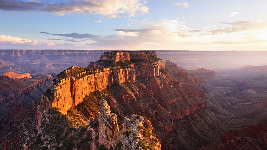 You need a little time to let Grand Canyon National Park sink in.