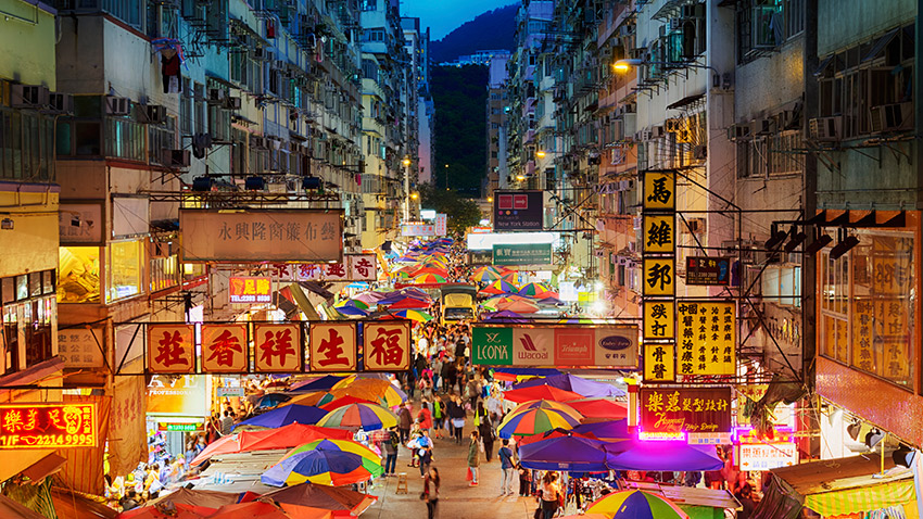 I want to see it all in Hong Kong; the food, the noise and crowds and mess.