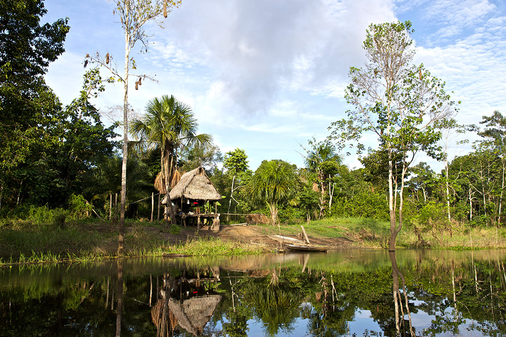 Indigenous peoples in the Amazon have a close relationship with nature.