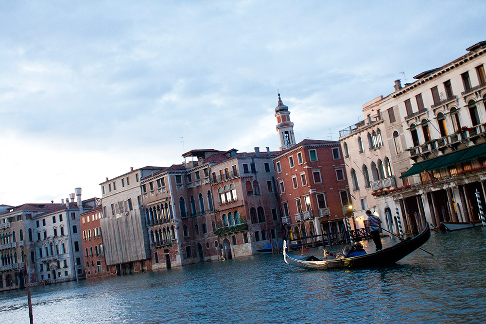 The canals of Venice were calling our name.