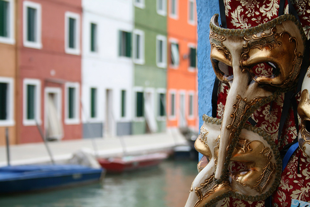 During the days of Carnevale, Venice becomes even more magical.