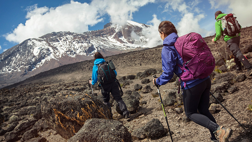 Trekking Kilimanjaro is truly a unique experience.